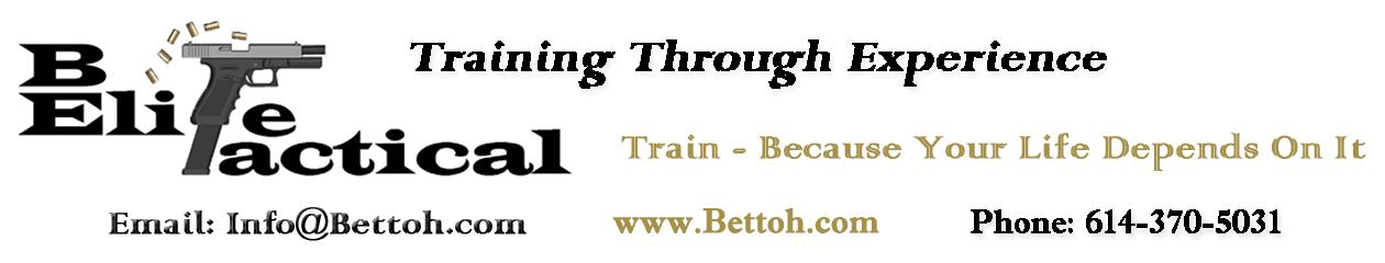 Be Elite Tactical Training of Ohio