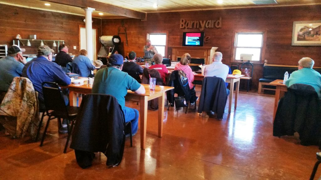 Nra Ccw Class At Barnyard Cafe Hillsboro Oh Be Elite Tactical
