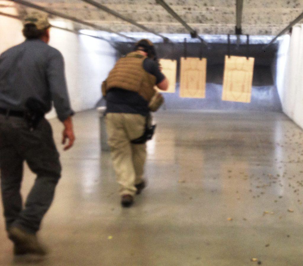 tactical transitions between handgun & rifle